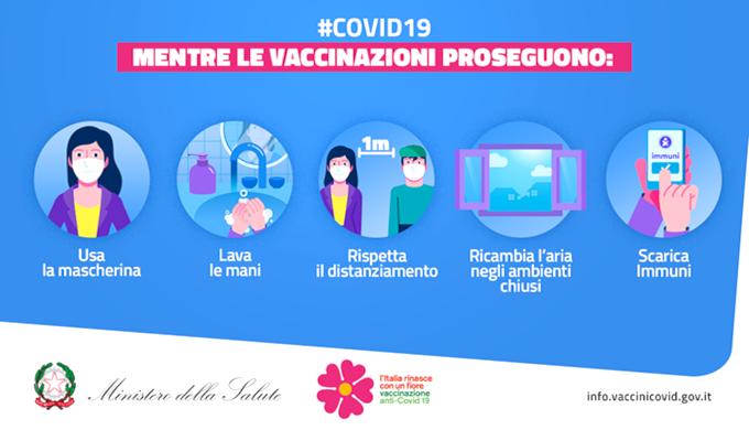 Mentre le vaccinazioni proseguono