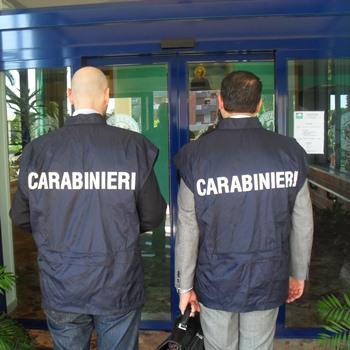 immagine di archivio dei carabinieri NAS
