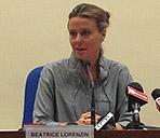 Ministro in conferenza stampa