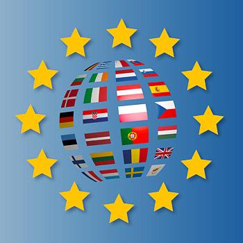 immagine che rappresenta le bandiere degli Stati dell'Unione Europea