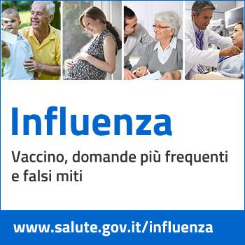 immagine del banner dell'influenza