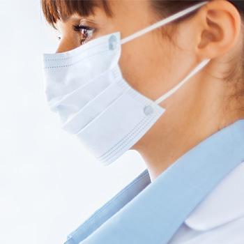 maschera viso protezione virus