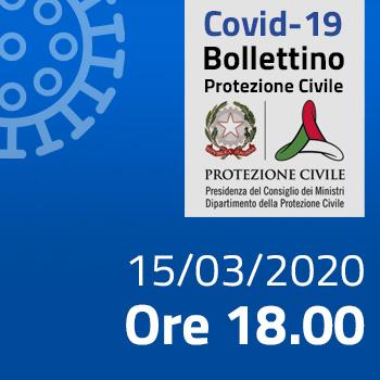 Bollettino Covid 15 marzo