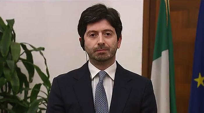 """Ministro Speranza: """"Numeri da epidemia in corso, servono prudenza e  gradualità"""""""