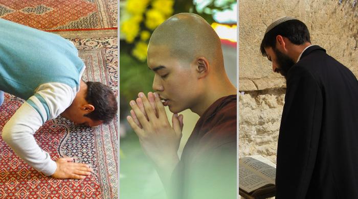 fedeli in preghiera