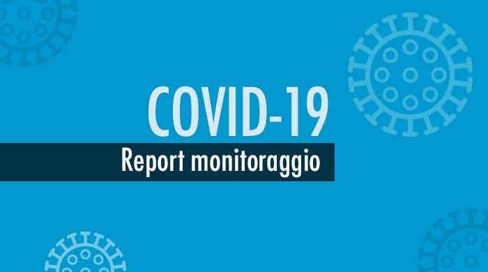 Monitoraggio settimanale Covid-19, report 20-26 luglio