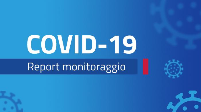 Banner report monitoraggio Covid-19