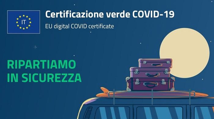 Modalità per il rilascio dell'EU Digital COVID Certificate (Certificazione Verde COVID19) ai cittadini italiani vaccinati o guariti all'estero.
