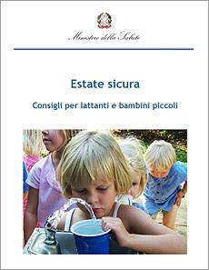 Estate sicura - Consigli per lattanti e bambini piccoli