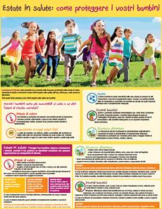 Estate in salute: come proteggere i vostri bambini