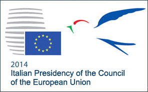 Banner 2014 Presidency of the Council of the European Union