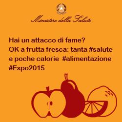 Hai un attacco di fame? OK a frutta fresca: tanta #salute e poche calorie #alimentazione #Expo2015