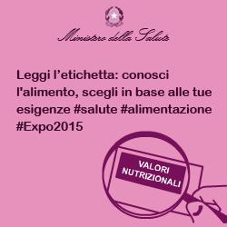 Leggi l'etichetta: conosci l'alimento, scegli in base alle tue esigenze #salute #alimentazione #Expo2015