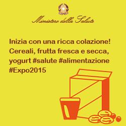 Inizia con una ricca colazione! Cereali, frutta fresca e secca, yogurt #salute #alimentazione #Expo2015