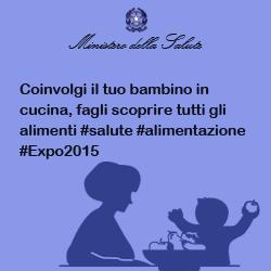 Coinvolgi il tuo bambino in cucina, fagli scoprire tutti gli alimenti #salute #alimentazione #Expo2015