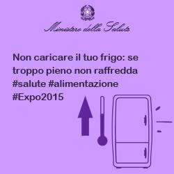 Non caricare il tuo frigo: se troppo pieno non raffredda #salute #alimentazione #Expo2015