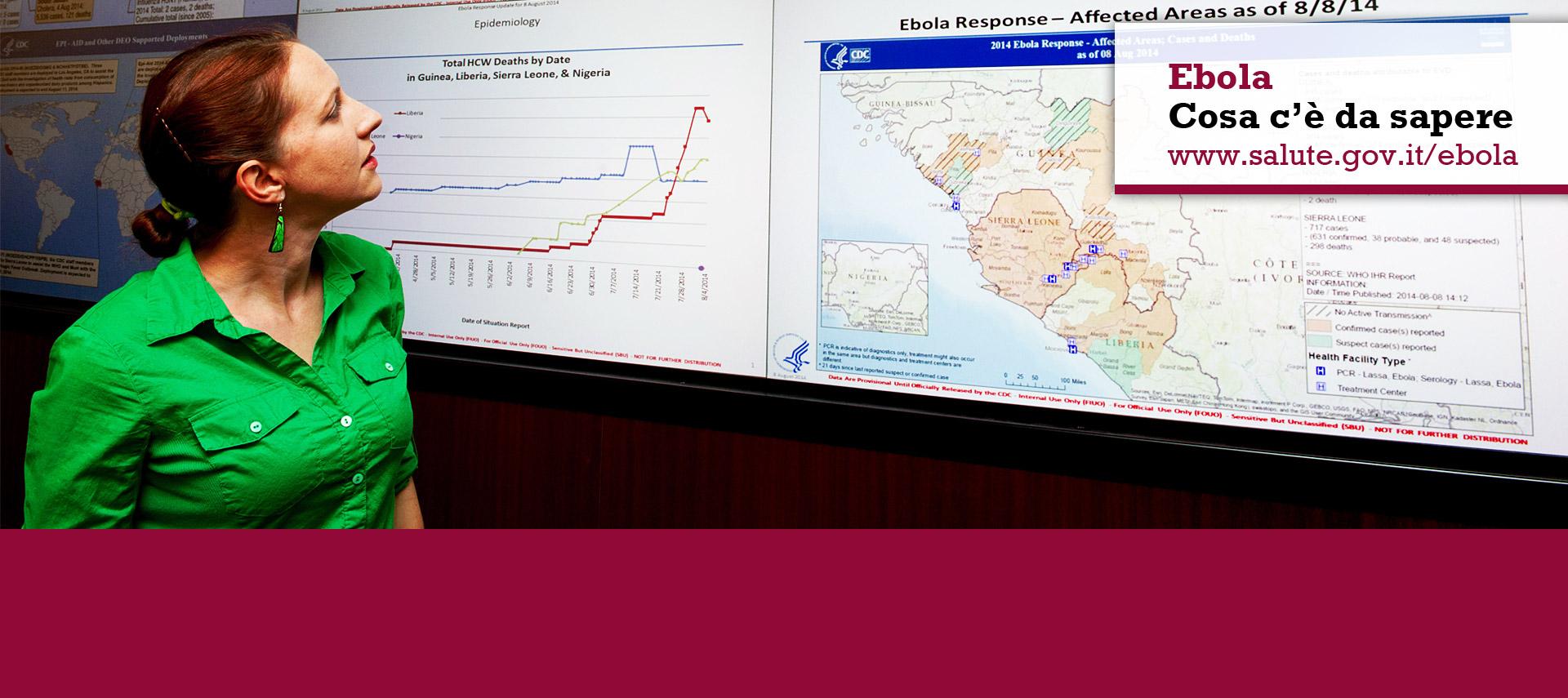 Ebola. Cosa c'è da sapere. www.salute.gov.it/ebola 1500