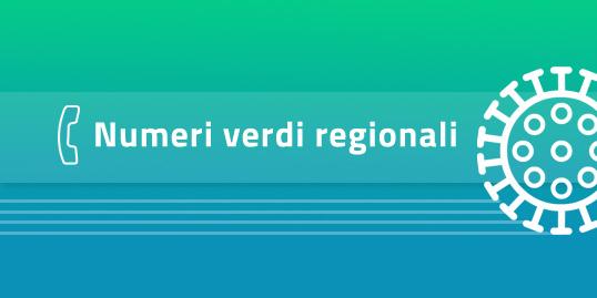 Covid-19 - Numeri verdi regionali