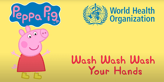 Wash Your Hands with Peppa Pig